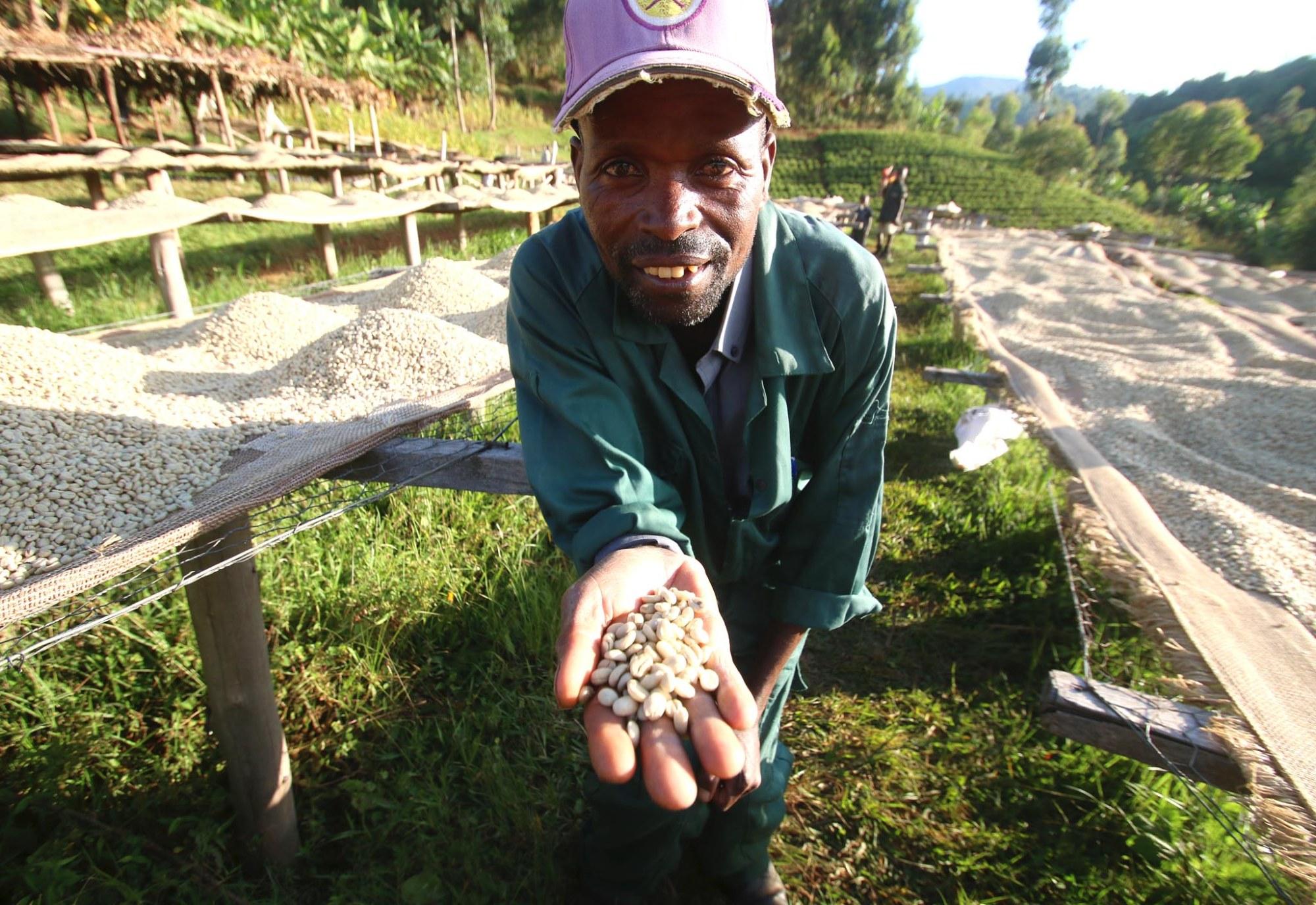 Burundian farmers With Coffee in Burundi - CoffeeInside 1