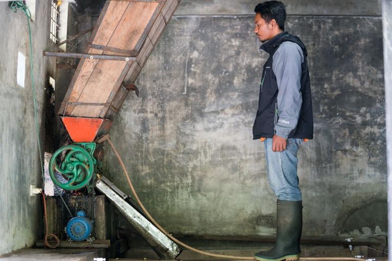 Giling Basah coffee Sumatra Indonesia