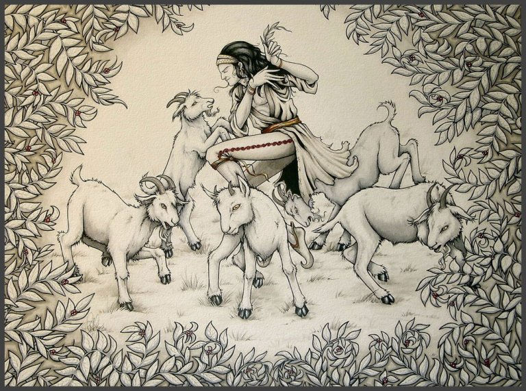 Kaldi Dancing Goats Legend of Ethiopian Coffee by CoffeeInside