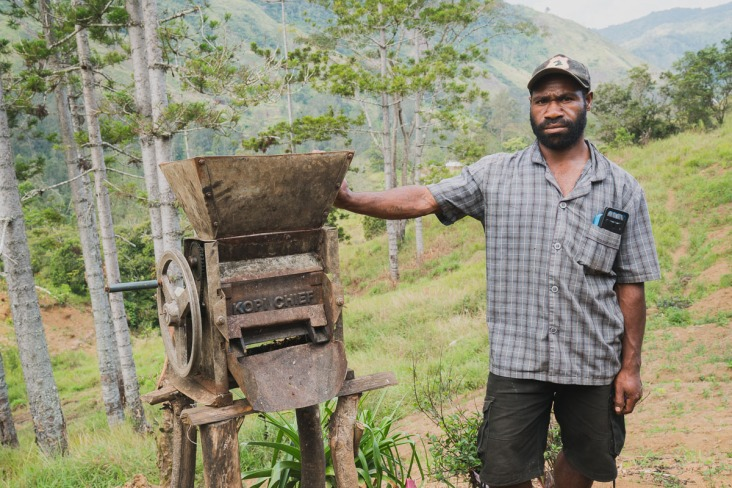 papua new guinea coffee machine processing - Coffee Inside